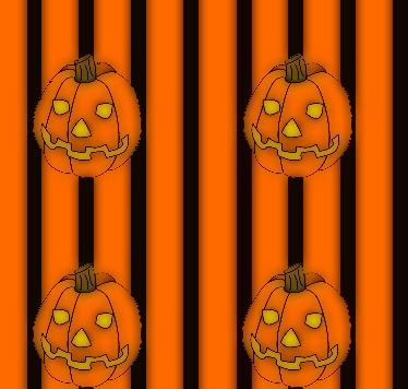 pumpkin wall paper glow